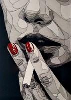 Grafika do salonu artysty Bartek  Niewiadomski pod tytułem Obojętność