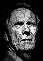 Grafika do salonu artysty Bartek  Niewiadomski pod tytułem Clint II