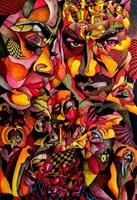 Obraz do salonu artysty Bartek  Niewiadomski pod tytułem Gambit II