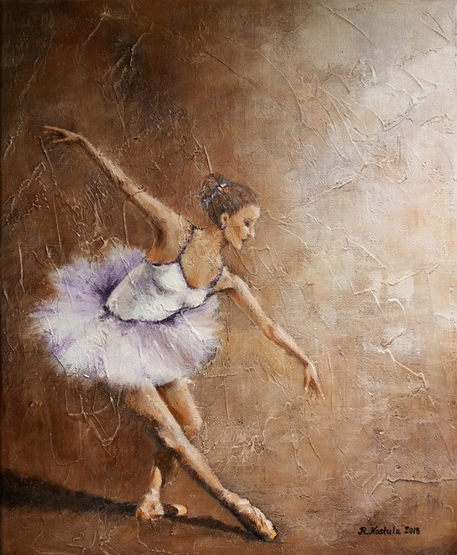 Obraz do salonu artysty Renata Nastula pod tytułem Baletnica