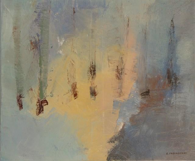 Obraz do salonu artysty Ryszard Pasikowski pod tytułem Abstakcja 5