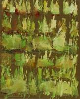 Obraz do salonu artysty Ryszard Pasikowski pod tytułem Abstakcja 7