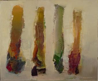 Obraz do salonu artysty Ryszard Pasikowski pod tytułem Abstakcja 13