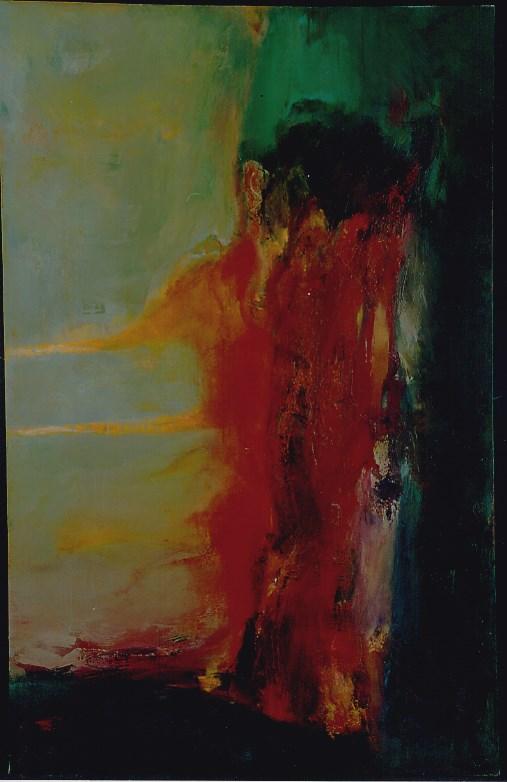 Obraz do salonu artysty Ryszard Pasikowski pod tytułem Abstakcja 26