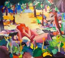 Obraz do salonu artysty Rafał Chojnowski pod tytułem LOST VEGANS