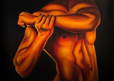 Obraz do salonu artysty Eliza Mytko pod tytułem Oddech milczenia