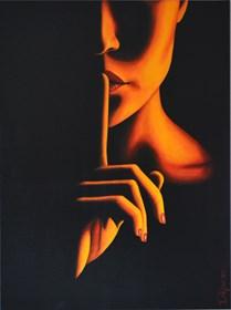 Obraz do salonu artysty Eliza Mytko pod tytułem Sekret mojej ciszy