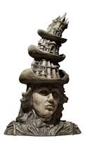 Rzeźba do salonu artysty Mariusz Szewczyk pod tytułem Pionowy kapelusznik