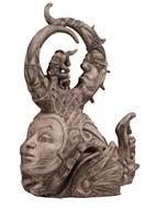 Rzeźba do salonu artysty Mariusz Szewczyk pod tytułem Głowa