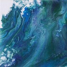 Obraz do salonu artysty Klaudia Krupa pod tytułem Wzburzony ocean