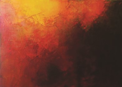 Obraz do salonu artysty Klaudia Krupa pod tytułem W ogniu