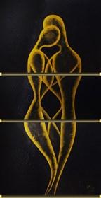 Obraz do salonu artysty Klaudia Krupa pod tytułem Kochankowie