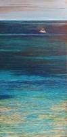 Obraz do salonu artysty Mariusz Kitowski pod tytułem Boat in Paradise