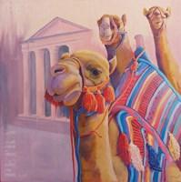 Obraz do salonu artysty Mariusz Kitowski pod tytułem Gathering in Petra