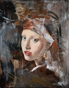 Obraz do salonu artysty Ewa Jasek pod tytułem F5