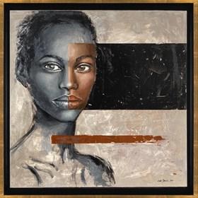 Obraz do salonu artysty Ewa Jasek pod tytułem Safira