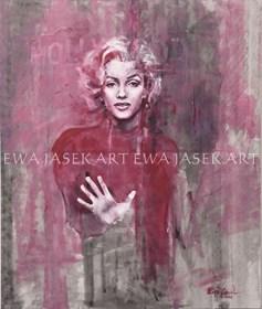 Obraz do salonu artysty Ewa Jasek pod tytułem MM