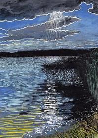 Obraz do salonu artysty Angelika Mus-Nowak pod tytułem Ścieżki słońca