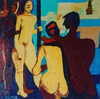 Obraz do salonu artysty Czesław Trzciński pod tytułem Na Basenie