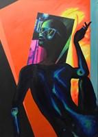 Obraz do salonu artysty Justyna  Kasperkiewicz pod tytułem NEON VI