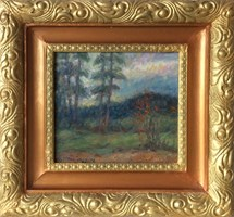Obraz do salonu artysty Piotr Komincz pod tytułem Puszcza Rudnicka, Madziuny