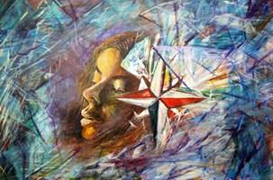 Obraz do salonu artysty Grzegorz Lazarek pod tytułem Rozbicie