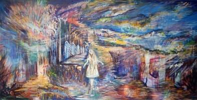 Obraz do salonu artysty Grzegorz Lazarek pod tytułem Wola