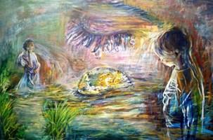 Obraz do salonu artysty Grzegorz Lazarek pod tytułem Tęsknota za dostrzeganiem