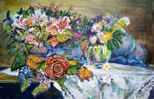 Obraz do salonu artysty Grzegorz Lazarek pod tytułem Wiosna, ach to ty