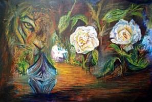 Obraz do salonu artysty Grzegorz Lazarek pod tytułem Ruja i poróbstwo
