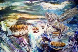 Obraz do salonu artysty Grzegorz Lazarek pod tytułem Przemiana