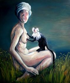 Obraz do salonu artysty Kacper Piskorowski pod tytułem Igraszki