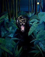 Obraz do salonu artysty Kacper Piskorowski pod tytułem Czarna Pantera