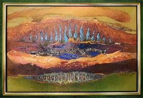 Obraz do salonu artysty Zdzisław Salaburski pod tytułem Bez tytułu