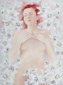Obraz do salonu artysty Alicja Włodek pod tytułem Bez tytułu