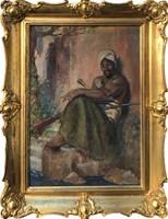 Obraz do salonu artysty Alojzy Roman Kawecki pod tytułem Maur