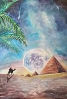 Obraz do salonu artysty Tomasz Pawłusiewicz pod tytułem Podróż