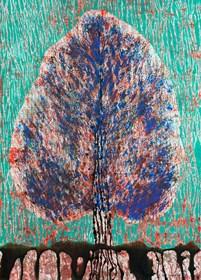 Obraz do salonu artysty Jolanta Johnsson pod tytułem Drzewo