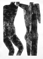 Grafika do salonu artysty Jolanta Johnsson pod tytułem Z cyklu Human 7