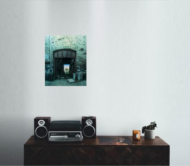 Raj w podwórzu (95/450) - wizualizacja pracy autora Jacek Yerka