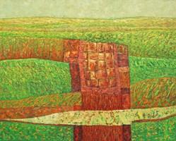 Obraz do salonu artysty Zbigniew Blekiewicz pod tytułem Przeciwieństwa VII