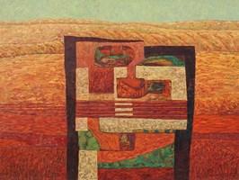 Obraz do salonu artysty Zbigniew Blekiewicz pod tytułem Przeciwieństwa V