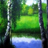 Obraz do salonu artysty Monika Sienkiewicz pod tytułem Tęsknota