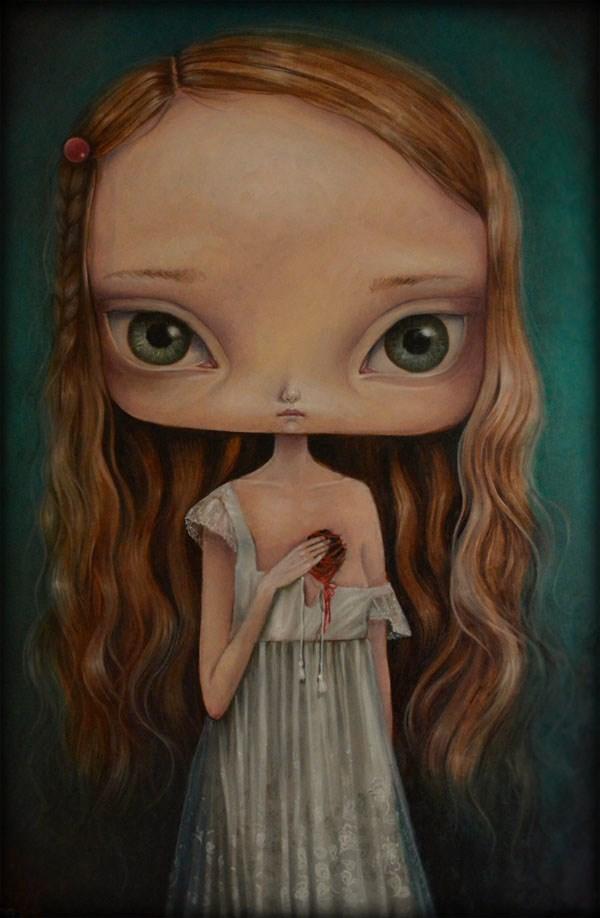 Obraz do salonu artysty Paulina Góra pod tytułem Bezsenne noce