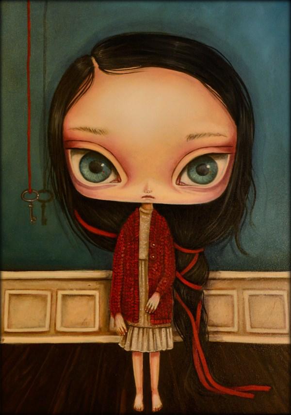 Obraz do salonu artysty Paulina Góra pod tytułem Klucz