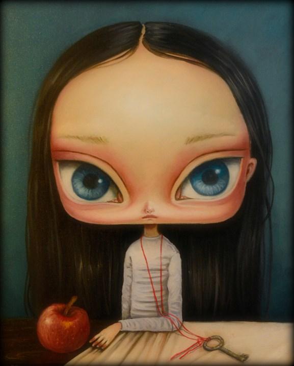 Obraz do salonu artysty Paulina Góra pod tytułem Koniec dnia