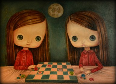 Obraz do salonu artysty Paulina Góra pod tytułem Gra