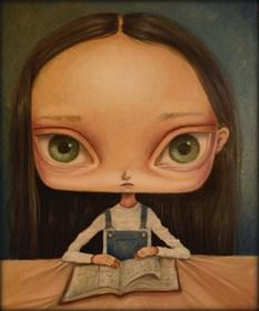 Obraz do salonu artysty Paulina Góra pod tytułem Księga Drzew