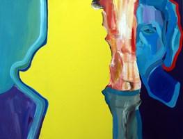 Obraz do salonu artysty Karolina Bracławiec pod tytułem Ona3