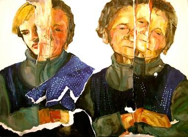 Obraz do salonu artysty Karolina Bracławiec pod tytułem Ona